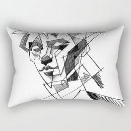 peter murphy 3 Rectangular Pillow