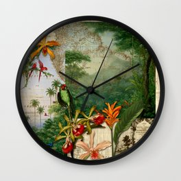America do Sul Wall Clock