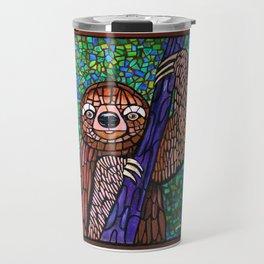DJ Jazzy Sloth Travel Mug