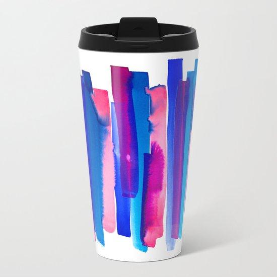 Color Study Metal Travel Mug