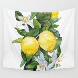 lemon tee Wall Tapestry