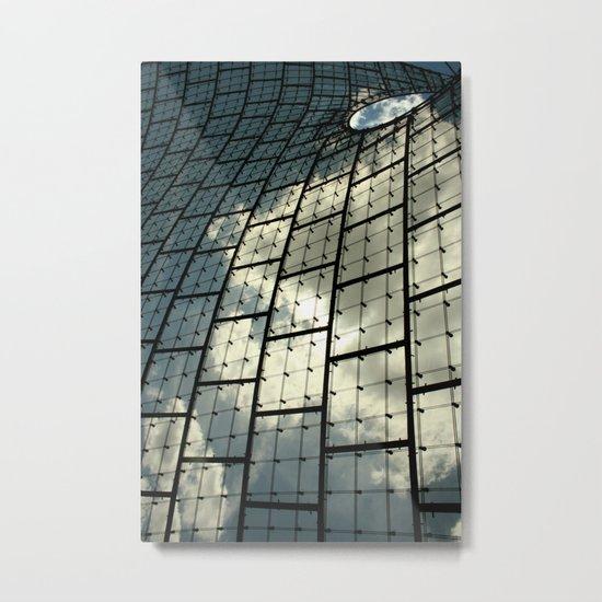 Sky Division Metal Print