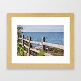 AFE Kew-Balmy Beach 4 Framed Art Print