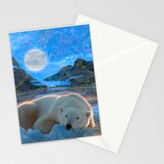 Just Chilling and Dreaming (Polar Bear) Stationery Cards