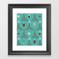 Coffee Hour Framed Art Print