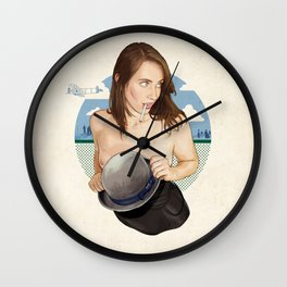 Miss North Carolina Wall Clock