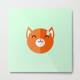 I'm Fox and I'm embarrassed Metal Print