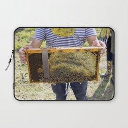 Beekeeping for Beginners Laptop Sleeve