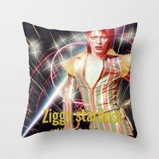 David Bowie - Ziggy stardust Throw Pillow