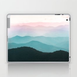 Smoky Mountain National Park Sunset Layers III - Nature Photography Laptop & iPad Skin