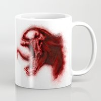 carnage Mugs featuring Carnage by KitschyPopShop