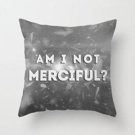 Illuminae - Am I Not Merciful? Throw Pillow