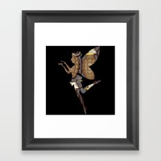 Grenade Fairy Framed Art Print