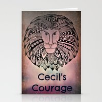 law Stationery Cards featuring Cecil's Law by MarjolynSpiritArt