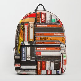 Something Nostalgic - III - Colored Version #decor #buyart #society6 Backpack