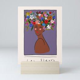 Les Fleurs Mini Art Print