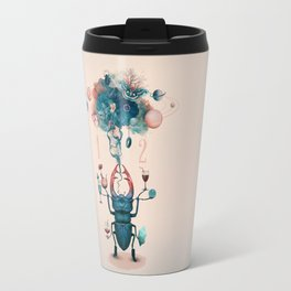 funny beetle Travel Mug