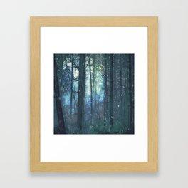 The Woods In Winter Framed Art Print