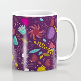 purple seeds Coffee Mug