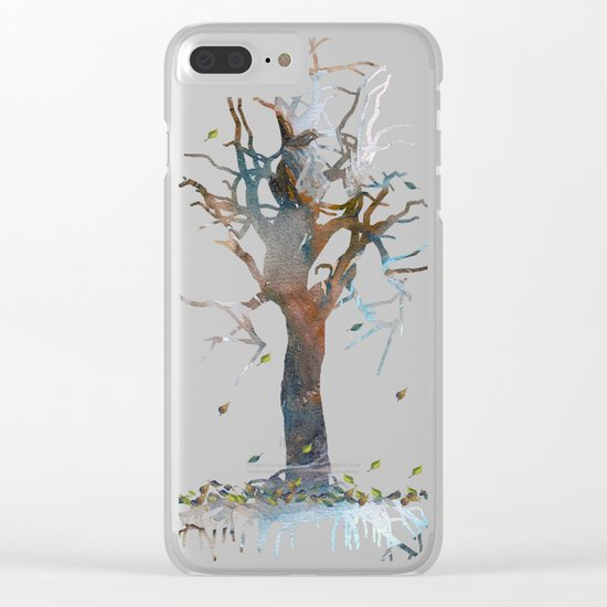Death Tree Clear iPhone Case