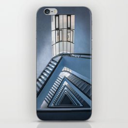 Rectangles and triangles iPhone Skin