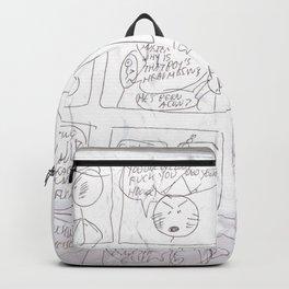 Angry Teacher Backpack
