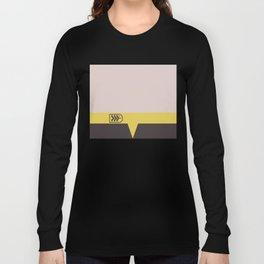 Miles O'Brien - Minimalist Star Trek DS9 Deep Space Nine - Chief  - startrek - Trektangles Long Sleeve T-shirt