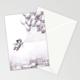 on the city Stationery Cards