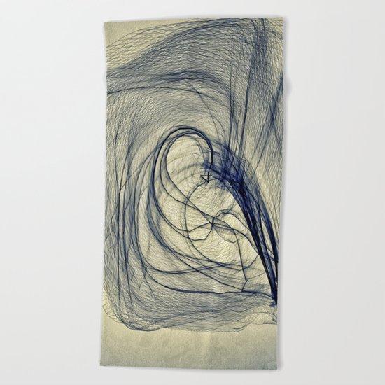 A Web for a Blanket Beach Towel