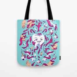 Tooth Guy Tote Bag