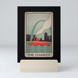 St. Louis Chariot Tarot Mini Art Print