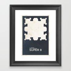 J.J. ABRAMS & Steven SPIELBERG's SUPER 8 Framed Art Print