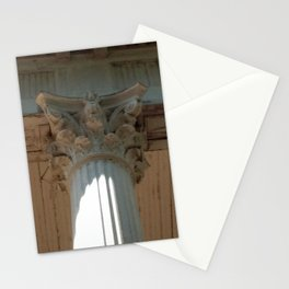 Corinth Column Stationery Cards