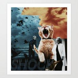 conquering the catwalk Art Print
