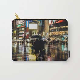 Love actually is all around - Rainy Night at Shibuyacrossing Carry-All Pouch
