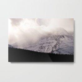 Cherry Mountains Metal Print