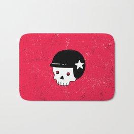 skull dude Bath Mat