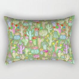 Green desert Rectangular Pillow