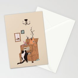the Pianist Stationery Cards