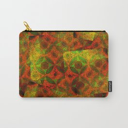 Moorish Pattern Collage Carry-All Pouch