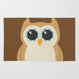 Forest Owl Nursery Set Rug