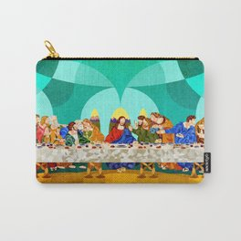 Curves - Last Supper Carry-All Pouch