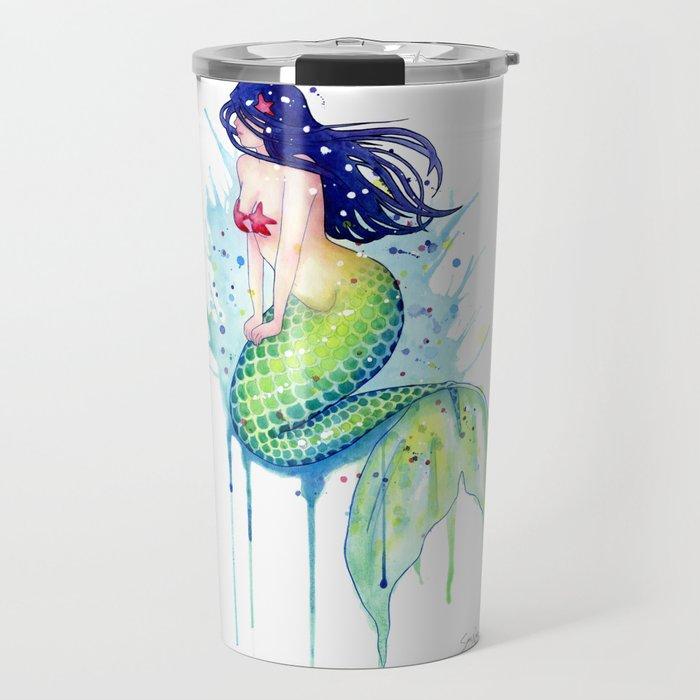 Mermaid Splash Travel Mug