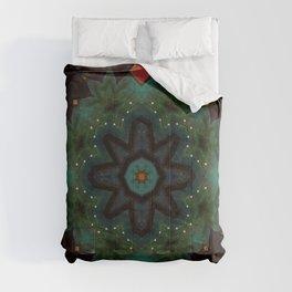 Ivy on the Iron Gate // Visionary Art Mandala Energy Meditation Yoga Bohemian Boho Witchy Decor Comforters