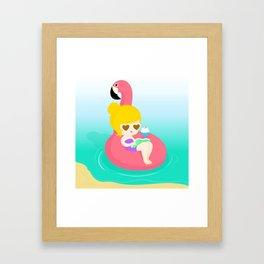 A Summer Dream Framed Art Print
