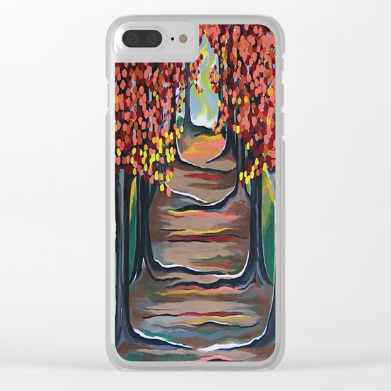 The Tranquility Of Nature Clear iPhone Case