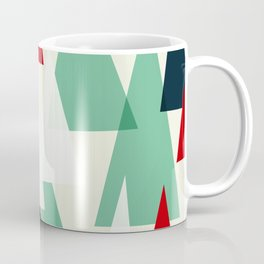Abstract Forest by Friztin Coffee Mug