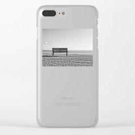 Is this what lonely feels like? Clear iPhone Case