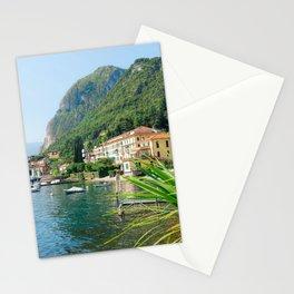 Beautiful Scenery in Menaggio Lake Como Italy Stationery Cards