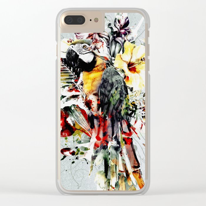 PARROT IV Clear iPhone Case